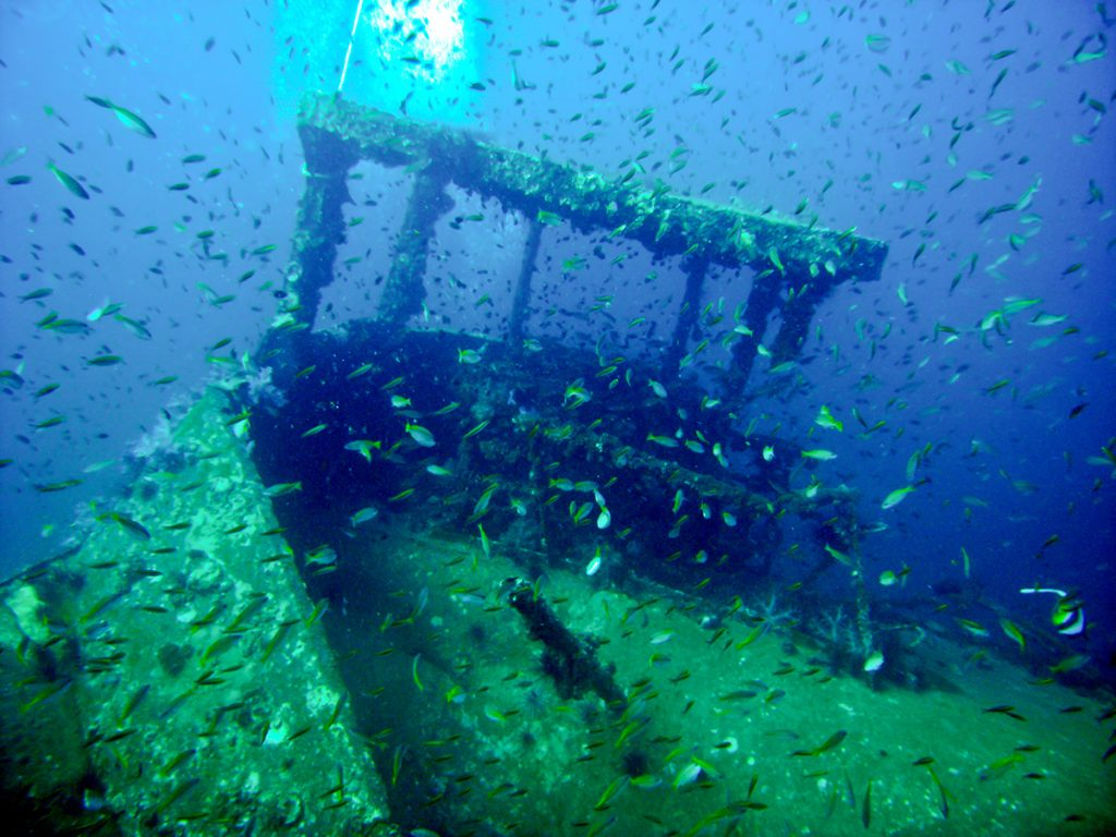 King Cruiser Wreck Dive Site