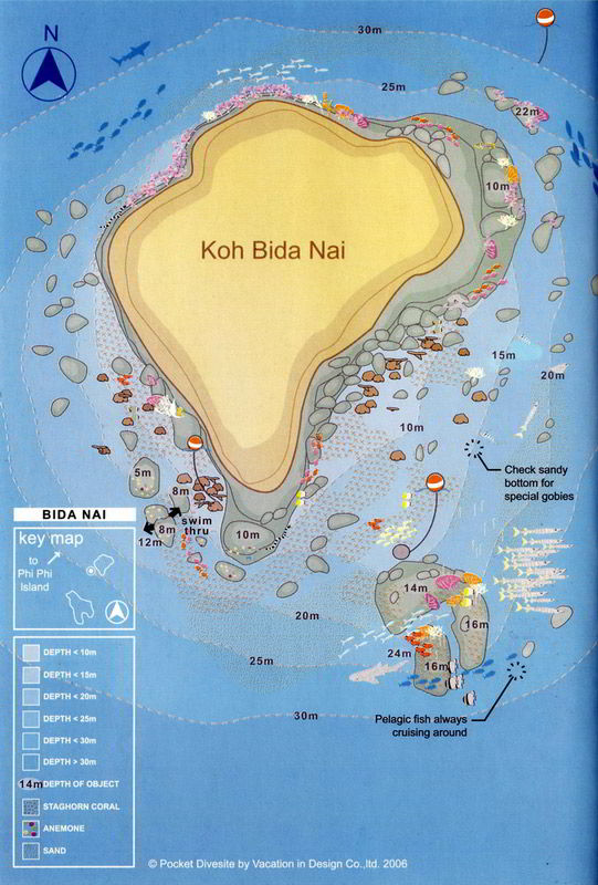 Ko Bida Nai Islands - Sirolodive