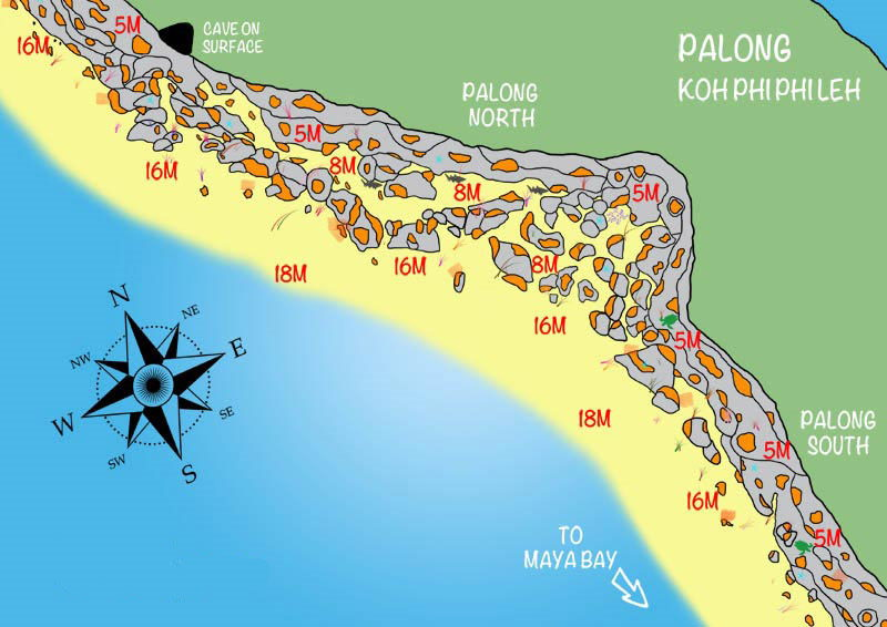 Palong Bay Dive Site Sirolodive.com